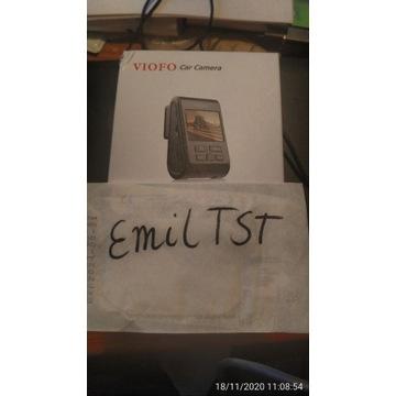Nowy model! Viofo A119 V3 + micro SDXC 64GB szybka