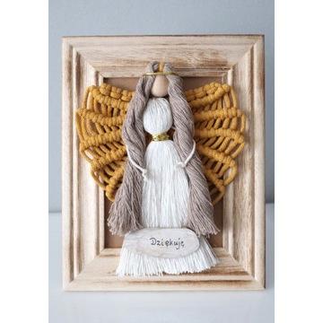 Aniołek, rękodzieło, pamiątka, na prezent, ozdoba