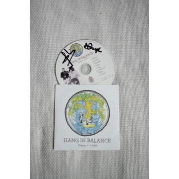 Hang in Balance -hang+violin autograf, hang drum