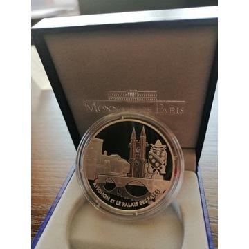 1 1/2 EURO AVIGNON FRANCJA SREBRO 2004 R.