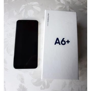 Samsung Galaxy A6+/A6 plus 32 G stan idealny+szkło