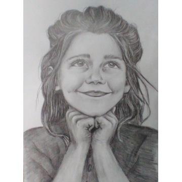 Portret rysunek malarstwo
