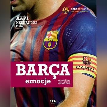 BARCA EMOCJE Xavi Hernandez FC Barcelona
