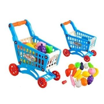 Nowe wózek zakupowy + produkty zabawka dla dzieci