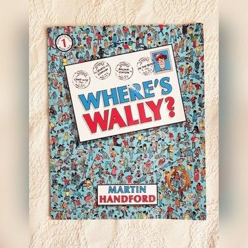 Książka nr 1 Gdzie jest Wally? Where's Wally?