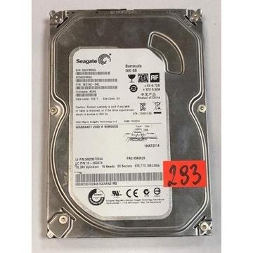 """Dysk 3,5"""" Sata SEAGATE BARRACUDA 500 GB -293"""