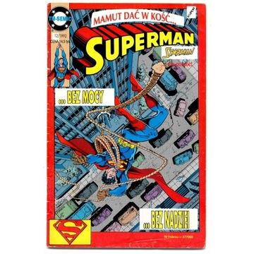 SUPERMAN - Człowiek ze stali 12/1992