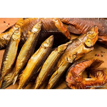 Ryby wędzone  ryby w zalewie octowej