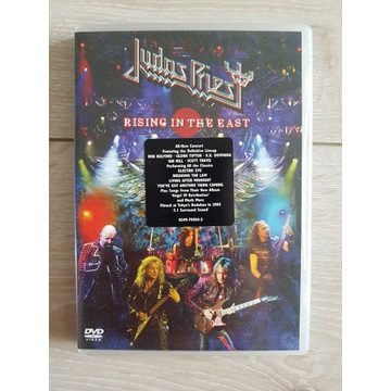 JUDAS PRIEST RISING IN THE EAST DVD