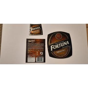 Etykieta Fortuna Miodowe 2013 rok