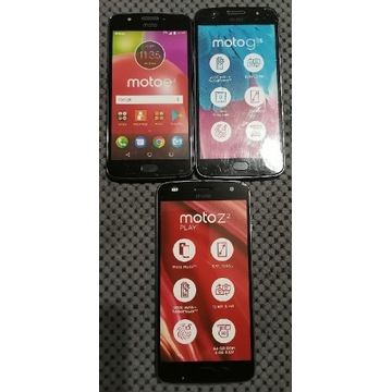 Atrapy telefonów Motorola- cały zestaw za 10zł