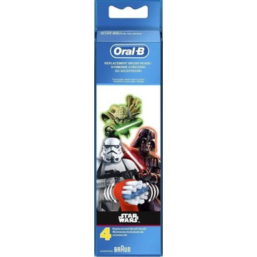 Braun Oral B Stages Power ( STAR WARS ) - 4szt.