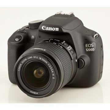 Canon EOS 1200D, jak nowy, komplet, wysyłka GRATIS