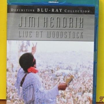 Jimi Hendrix - Live at Woodstock ; Blu-Ray ; (M)