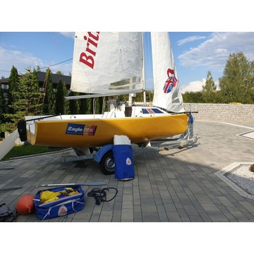 Jacht żagle 500, LG 500 stan perfekt, Gdynia