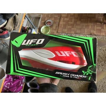 Osłony dłoni/rąk Handbary UFO Patrol czerwone nowe