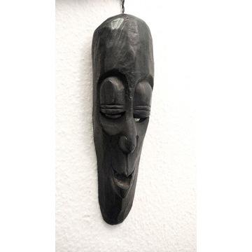 Maska drewniana afrykańska rękodzieło