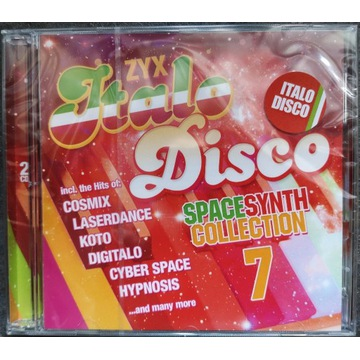 ZYX Italo Disco SPACESYNTH Collection 7 - 2 CD