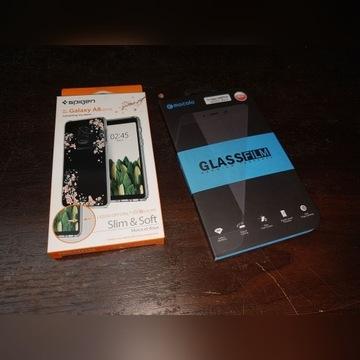 Etui i szkło Samsung a8 spiegen i mocolo