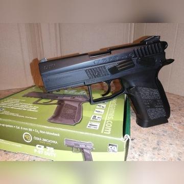 Doskonała replika ASG pistoletu CZ 75 P-07 DUTY