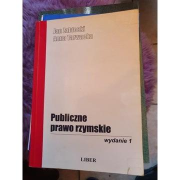Publiczne Prawo Rzymskie - A.Tarwacka, J. Zabłocki