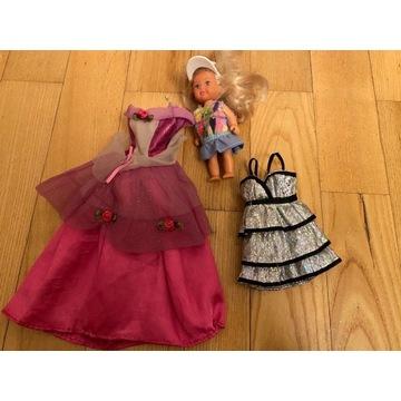 Zestaw: lalka i dwa ubranka