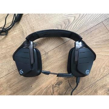 Słuchawki gamingowe z mikrofonem Logitech G633 7.1