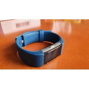 Opadka Fitbit Charge 2 L/G niebieska