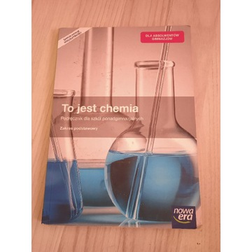 Książka do szkoły z chemii