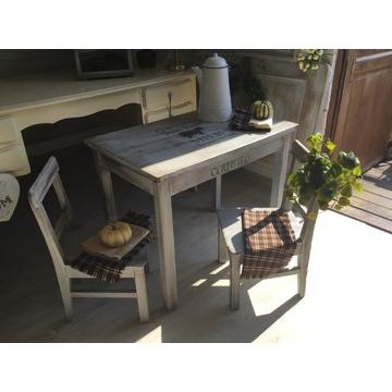 Stolik i krzesełka,farmhouse,shabby chic