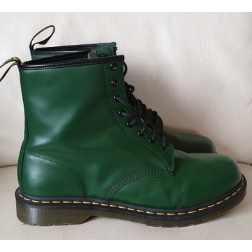 Dr.Martens 1460  GREEN SMOOTH roz.48