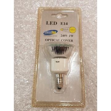 Żarówka LED Kolorowa Swedlux E14 1W Żółta