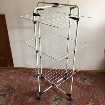 Suszarka do ubrań składana stojąca na pranie