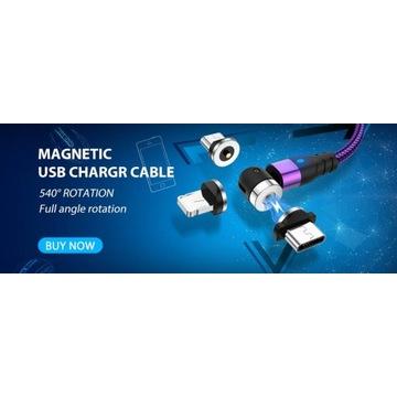 Kable magnetyczne do telefonu