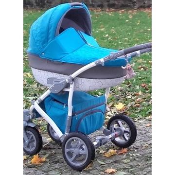 Wózek wielofunkcyjny Camarelo Figaro 2w1 niebieski