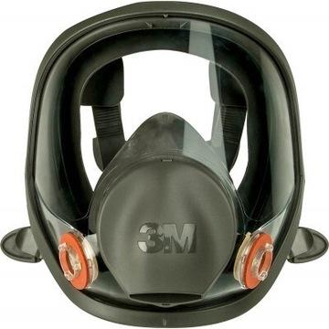 Maska Pełnotwarzowa 3M 6800 rozmiar M + Filtry