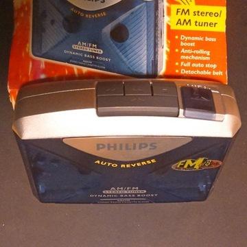 Philips AQ6598 sprawny walkman CC autorevers radio