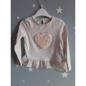 Minoti - bawełniana bluzeczka, roz. 86-92