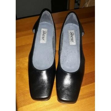 Skórzane buty damskie Glanzbut roz.38 . Licytacja