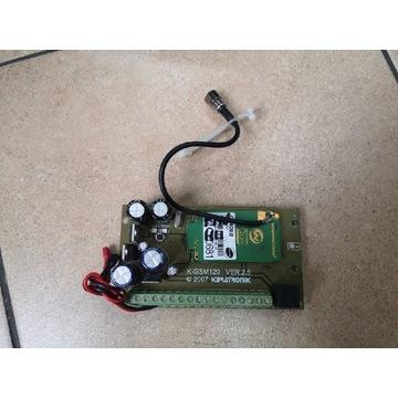 K-GSM 120 Keratronik centralka, powiadomienie