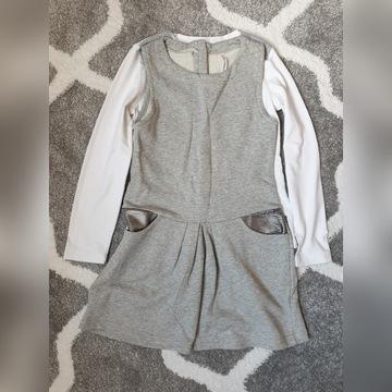 Coccodrillo r.128 sukienka koszulki sweter