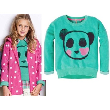 Next bluza panda 11-12/146-152 Super