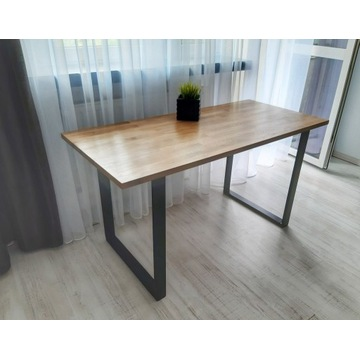 Stół dębowy  obiadowy Loft 140x65