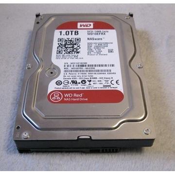 Dysk HDD 1tb 1000gb WD Red Nas sata 64mb 100%ok