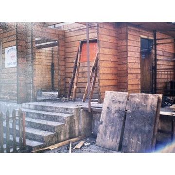 """Domek Letniskowy """"Stanica"""" konstrukcja drewniana"""
