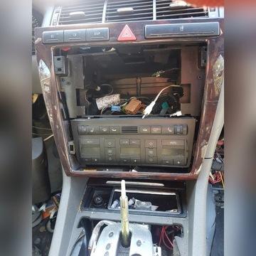 Ramka 2 din klimatronik a8 d2 fl pod duze radio na