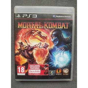 MORTAL KOMBAT PLAYSTATION 3 PS3