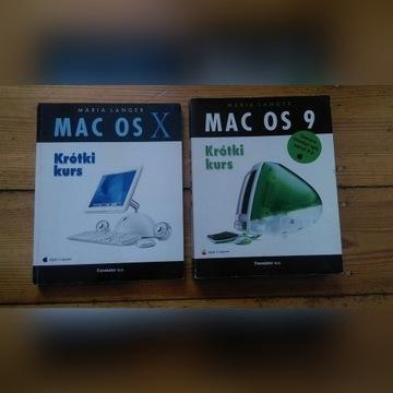 Macintosh - Apple książki  Mac OS 9/10 PL