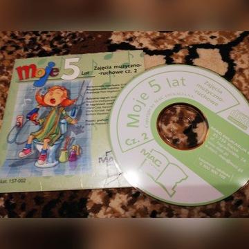Moje 5 lat. Płyta z piosenkami dla dzieci.