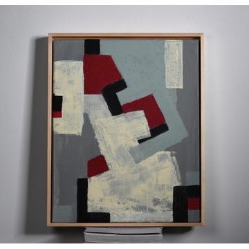 Nowoczesny obraz abstrakcyjny 40x50 cm